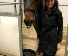 Megan Shea, shown here with her horse K2, was one of eight demonstration riders to be recognized with the October Volunteer of the Month title for participating in the Dressage Performance Advantage Symposium, held Oct. 20, 2017 in Palgrave, ON.