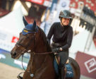 Foster enjoyed riding her borrowed mount for the Beijing Masters, Moonstar.