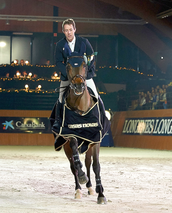 Dutch rider Maikel Van der Vleuten wins the Massimo Dutti Trophy on the opening day of CSI5*W La Coruna.