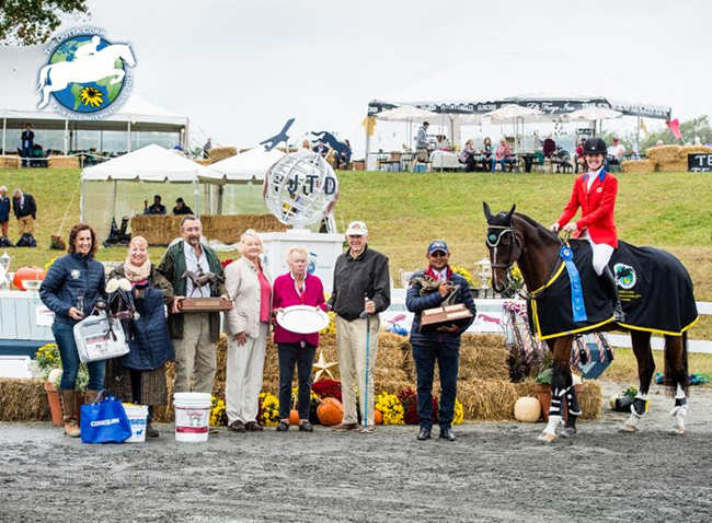 As winner of the Fair Hill International CCI***, Selena O'Hanlon expected to receive $15,000 USD and a flight anywhere in the world, but that has not been the case.