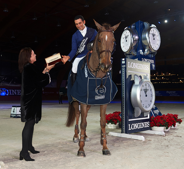 Egyptian Sameh El Dahan won the Longines Grand Prix riding Suma's Zorro in A Coruna, Spain.