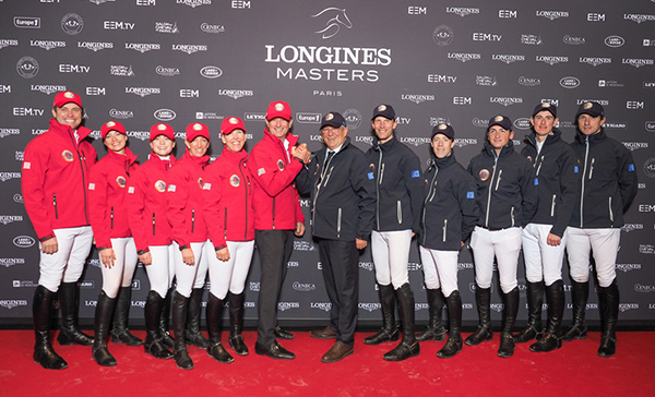 Team Europe was victorious over Team USA in the first-ever Riders Masters Cup.