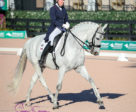 Diane Creech of Caistor Centre, ON and her mount, Robbie W kicked off 2018 on a high note, picking up a small tour win at the Adequan Global Dressage Festival series, held Jan. 11-14, 2018 in Wellington, FL. Photo by Susan J. Stickle