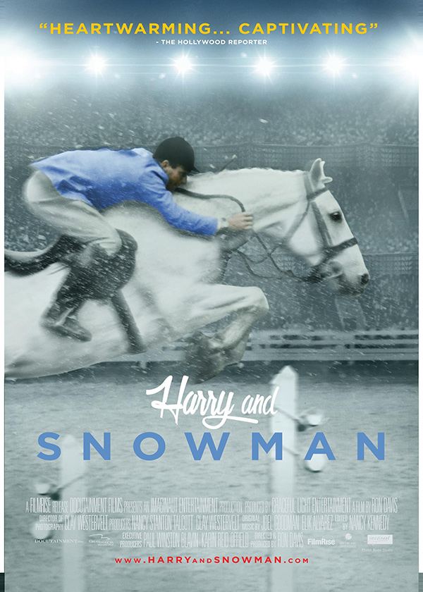 Harry & Snowman movie poster