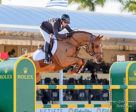 Eric Lamaze scored his first victory of the 2018 season, winning the $35,000 CSI2* Equinimity WEF Challenge Cup Round II riding Chacco Kid on January 18 at the Winter Equestrian Festival in Wellington, FL. Photo by Starting Gate Communications