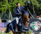 Luis Alejandro Plascencia (MEX) guided home his 10-year-old Dutch Warmblood stallion Da Vinci to victory in his World Cup qualifier debut on home soil at today's Longines FEI World Cup™ Jumping Guadalajara (MEX).