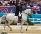 Jacqueline Brooks & D Niro at the 2012 London Olympics. Photo by Cealy Tetley