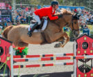François Lamontagne and Chanel du Calvaire were members of Canada's victorious Nations' Cup team at CSIO5* Ocala, Florida. Photo by Starting Gate Communications