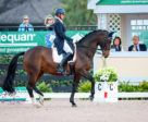 Megan Lane and her 2016 Rio Olympics partner, Caravella, demonstrated their world-class talent with top three finishes at the Adequan Global Dressage Festival 3, held Jan. 25-28, 2018 in Wellington, FL. Photo by Susan J. Stickle