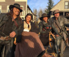 Elysia Rotaru with Dead Again in Tombstone co-star Danny Trejo.