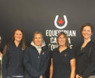 On March 16-18, 2018, Equestrian Canada hosted a successful Para-Equestrian Classification Information Session and Classifiers Seminar in Ottawa, ON, providing information and education around the vital role of EC National Classifiers. L to R: Philippa Keegan, Mireille Bilodeau, Robyn Allen, Sue Foell, Katie Pauhl. Photo © EC
