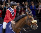America's Beezie Madden and Breitling LS took their second win of the week to go into Sunday's title-decider with a one-fence advantage at the Longines FEI World Cup™ Jumping Final 2018 in Paris (FRA) tonight.