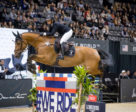 Erynn Ballard and Fantast took third place in the $382,800 Longines Grand Prix of New York