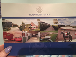 Total luxury at the Horse Hotel Holland.