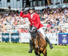 A superb double-clear from Martin Fuchs and Chaplin helped Team Switzerland to victory at the Longines FEI Jumping Nations Cup™ of Slovakia in sunny Šamorín. Photo by FEI/Łukasz Kowalski