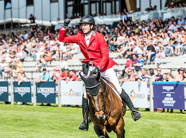 Thumbnail for Swiss Sweep Victory at Opening Leg of Longines Series in Šamorín