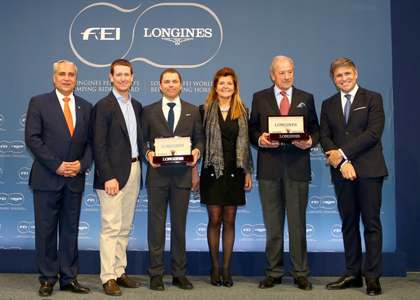 Thumbnail for US Olympians claim FEI awards for best jumping rider and horse