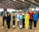 The Canadian team won the CVI 3* Squad Vaulting Competition with a moving freestyle performance based on Disney's classic film, Beauty and the Beast.