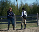 Equestrian Canada Eventing Committee Chair and certified Competition Coach Specialist, Ruth Allum of Ashton, ON, is embarking on a cross-Canada tour from April to August to teach eventing clinics and learn about the state of the sport nationwide. Photo Courtesy of Oakhurst Farm