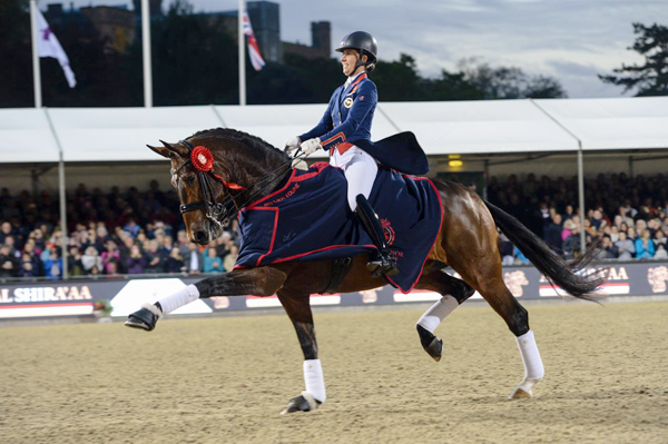 Thumbnail for Flashy mare Freestyle Takes the Freestyle at Royal Windsor