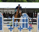 Daniel Deusser and Equita Van T Zorgvliet winning the CSI5* Bahrain Pearl Stakes at the Royal Windsor Horse Show.