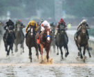 Justify won the 144th running of the $2,192,000 Kentucky Derby, with Mike Smith in the irons. Coady Photography/KentuckyDerby.com