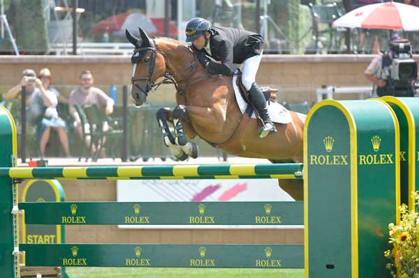 Former Olympian and World Number 1 ranked rider Eric Lamaze (CAN) & Fine Lady 5. Eric is one of many international athletes joining us for the 2018 Summer Series.