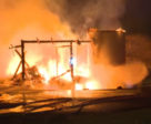 A fire that started in the early morning hours of Monday, May 21st, has claimed the lives of 16 horses at the Sunnybrook Stables in Toronto.