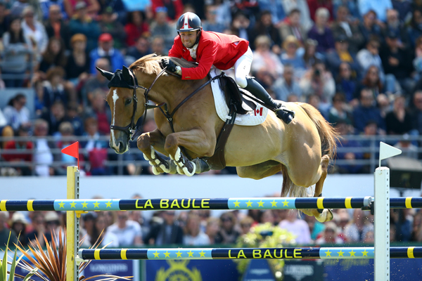 François Lamontagne of Saint Eustache, QC, riding Chanel du Calvaire had the best Canadian performance in the €200,000 Longines Nations' Cup held Sunday, May 20, at CSIO5* La Baule, France.
