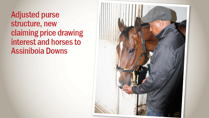 Thumbnail for New Initiatives Drawing Interest and Horses at Assiniboia Downs