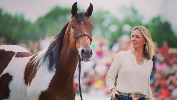 Lorie Duff will represent Canada in The Gobi Desert Cup. Photo © Lorie Duff Horsemanship