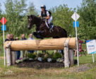 Lynn Symansky (USA) and Under Suspection in the CCI3* at the MARS Incorporated Bromont CCI Three Day Event in Bromont, Quebec.