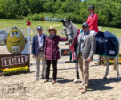 Jessica Phoenix (CAN) and Bentleys Best win the CIC2* at the MARS Incorporated Bromont CCI Three Day Event in Bromont, Quebec. Presentation by Tom Todaro (CAN), Marilyn Payne (USA) and Richardo Perez-Conde (MEX). Photo by Cealy Tetley