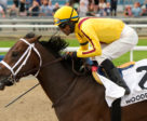 Telekinesis winning the Queen's Plate Trial on June 9th. Michael Burns Photo