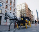 Horse-drawn carriages will no longer be allowed to operate in downtown Montreal ad of December 31, 2019.