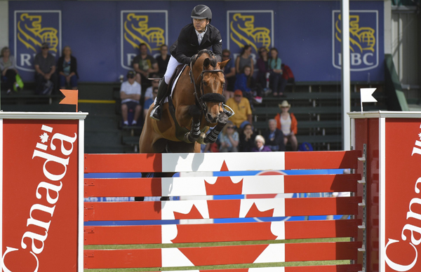 Kent Farrington (USA) and Gazelle, winners of the RBC Grand Prix, presented by Rolex.