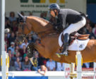 Eric Lamaze and Fine Lady 5 won the $500,000 ATCO Queen Elizabeth II Cup at the CSI5* Spruce Meadows North American tournament in Calgary, AB.