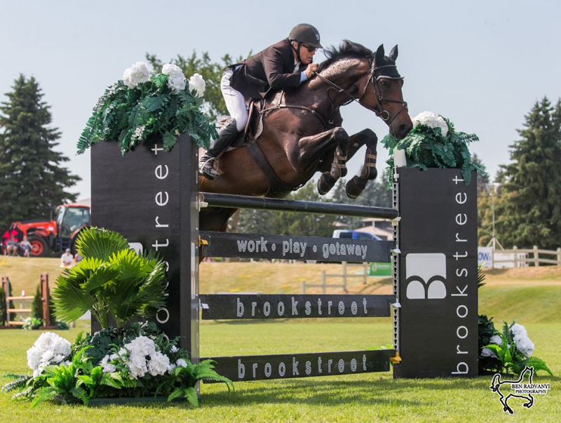 Hugh Graham of Schomberg, ON, and Knock Out 3E won the $50,000 Brookstreet Grand Prix at the Ottawa National Horse Show held at Wesley Clover Parks in Ottawa, ON.
