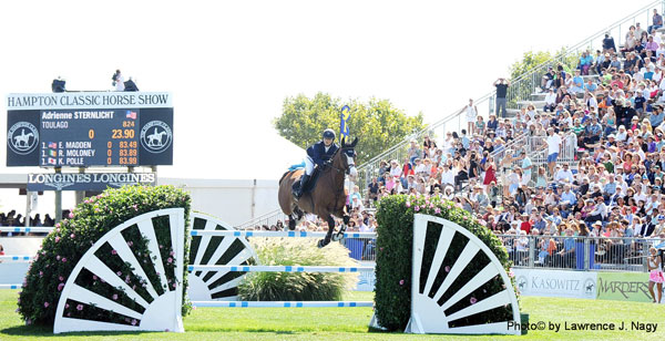 The Hampton Classic is an example of a Premier show at the highest level in the U.S. Photo © Lawrence J. Nagy