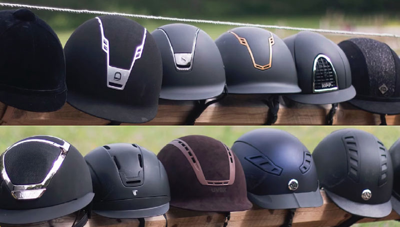 The Swedish insurance company Folksam conducted a comprehensive study of 15 equestrian helmets, which revealed that most don't offer adequate side impact protection.