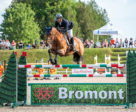 Tomas Yofre and Fantasy during the Modified Grand Prix at 2018 International Bromont I.
