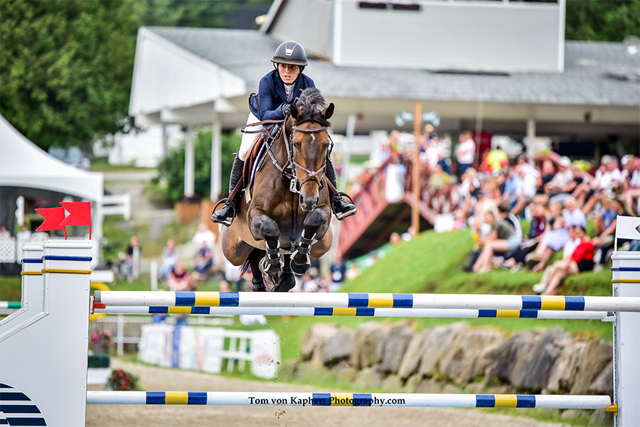 Ali Ramsay and Hermelien VD Hooghoeve, winner of the Assante FEI Classic.
