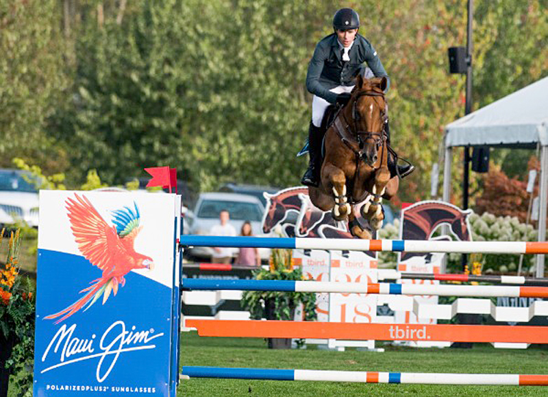 Conor Swail & Rubens La Silla win the $75,000 CSI4*-W Maui Jim Welcome at Thunderbird Showpark's 2018 Summer Fort Festival.
