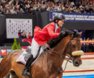 Beezie Madden (USA) clinches her second World Cup title riding Breitling LS in a cliffhanger at the Longines FEI Jumping World Cup™ Finals 2017/18 Paris, (FRA). Photo by FEI/Liz Gregg