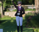Chase Robertson of Calgary, AB and Winsome earned the bronze medal in the Dressage Junior Riders Individual Competition at the 2018 NAYC in North Salem, NY.