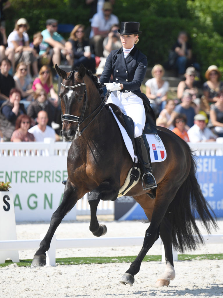 One of the original nominated French dressage riders, Morgan Barbancon Mestre with Sir DonnerHall ll Old, will not have the opportunity to represent her country at WEG following the FFE's withdrawal.