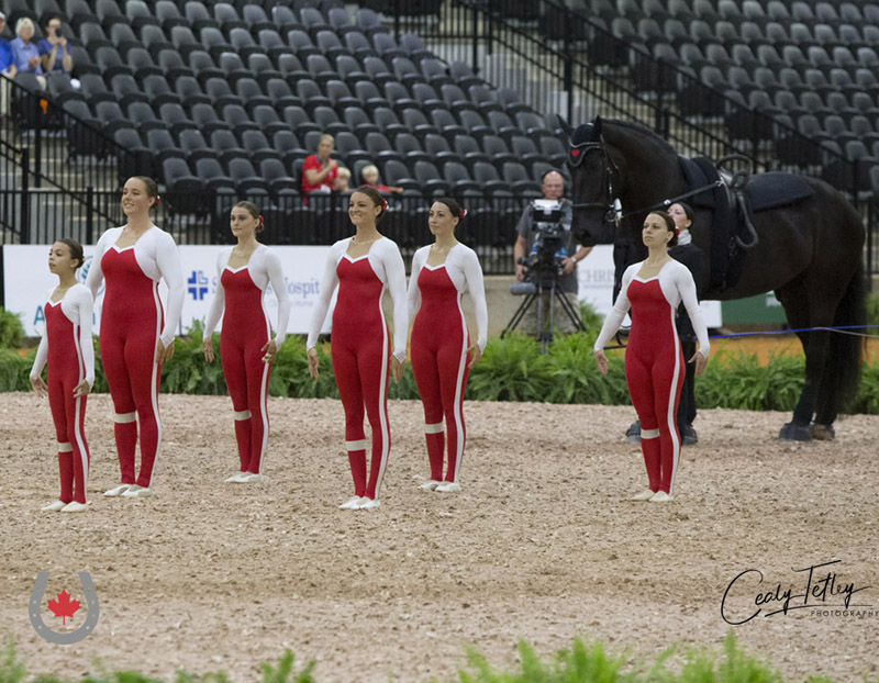 Thumbnail for Team Canada off to strong start in round one of Squad Competition at WEG
