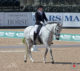 Winona Hartvikson was the leading rider for Canada in the Para-Dressage Team Test, scoring 70.000% aboard Ultimo.