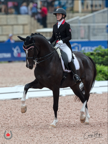 Thumbnail for Trussell and Irving Dance into Day One of Dressage at WEG