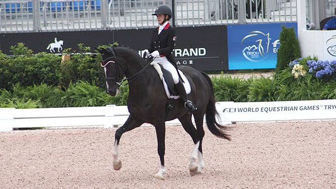 Thumbnail for WEG Dressage Grand Prix Day 1 – Canada off to a Solid Start